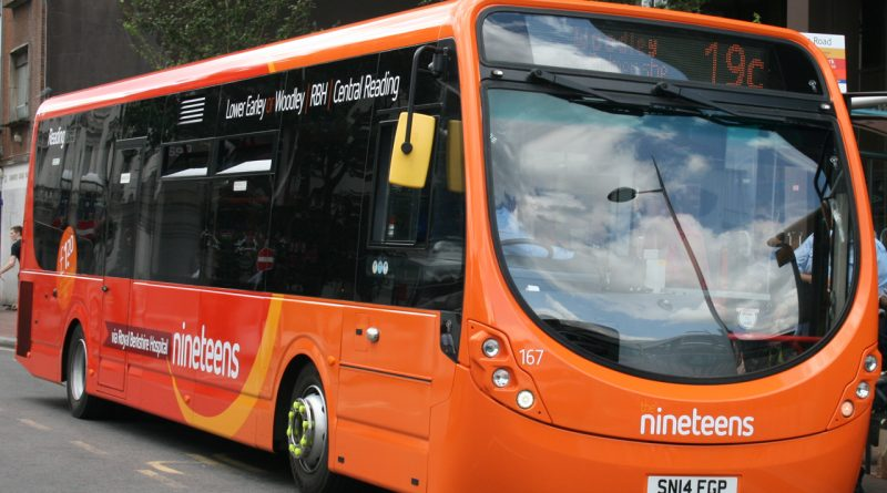 Reading Number 19 Bus