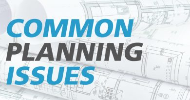 common planning issues