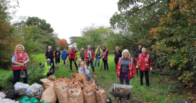 JOIN US FOR…..A LITTER PICK IN BULMERSHE PARK